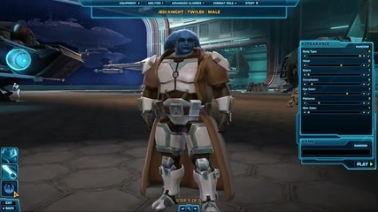 The Old Republic - Character Creation - 1