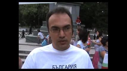 Протест срещу проучването и добива на шистов газ - Варна - 05.06.2013 година