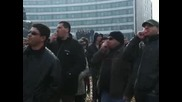 Втори ден протести пред НС