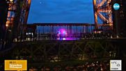 Айфеловата кула посреща с музика и светлини 300-милионния си посетител