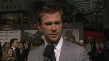 Avengers: Age Of Ultron World Premiere: Chris Hemsworth