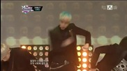 130117 Speed - That's My Fault ( ft. Davichi's Minkyung ) + It's Over @ Mcountdown