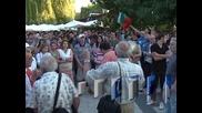Протест на Орлов мост въпреки президентското вето