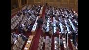 Депутатите гласуват на второ четене Закона за съдебната власт