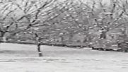 Сняг на първа пролет в гр.Козлодуй