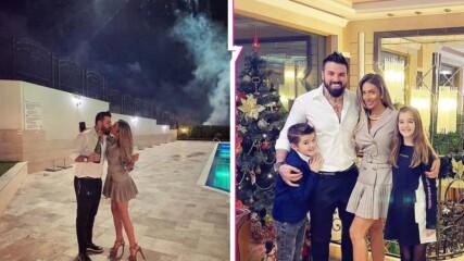 Морска новогодишна идилия с цялото семейство: Благой Георгиев заведе децата на Черно море!