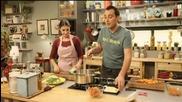 Лахмаджун, супа от броколи, сладки с тиква - Бон апети (27.10.2014)