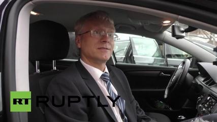 Изпробваха автономни коли на германска магистрала