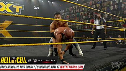 Kushida vs. Tommaso Ciampa vs. Velveteen Dream – Triple Threat Match: WWE NXT, Oct. 21, 2020
