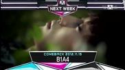 (hd) B1a4 & Dal Shabet & Son Dam Bi - Comeback Next Week ~ M Countdown (08.11.2012)
