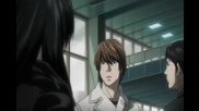 Death Note - 6 { Bg Subs } Високо качество