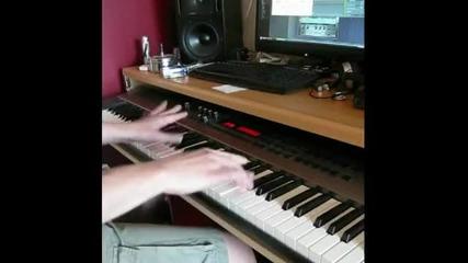 Trance, Hardcore, Rave Remix on Piano
