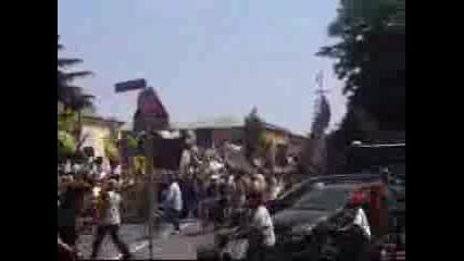 Corteo Manifestazione Ultras Parma Boys