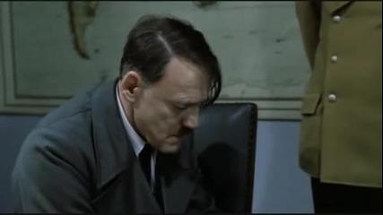 Хитлер разбира, че Веселин Маринов спира да пее