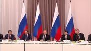 Russia: Kiev 'taunting' people of Crimea over energy blockade says Putin