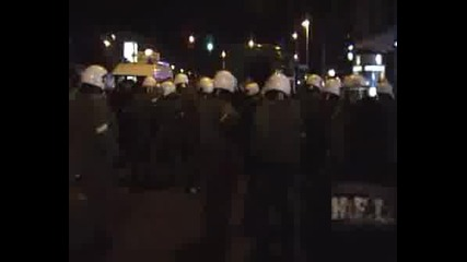 Спонтанна Демонстрация В Берлин