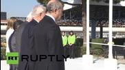 Spain: Steinmeier, Fabius, and Garcia-Margallo pay tribute to Germanwings crash