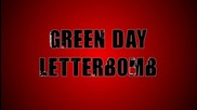 Green Day - Letterbomb текст