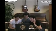 Jonas Brothers Live facebook Webcast part 3