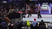 Ренди Ортън срещу Джеф Харди - Кралски Грохот 2008