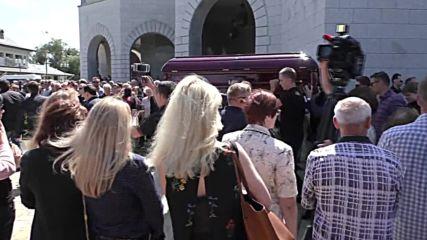 Belarus: Slaim journalist Pavel Sheremet laid to rest in home city of Minsk