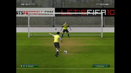 My first video on Fifa 10