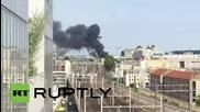 Франция: Пожар обхваща сграда в Париж