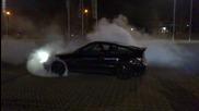 Honda Crx burnout