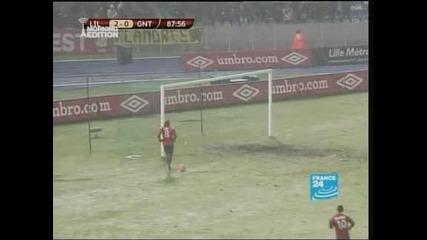 """""""Лил"""" спечели с 3:0 срещу """"Гент"""" и се класира за 1/16-финалите в Лига Европа"""