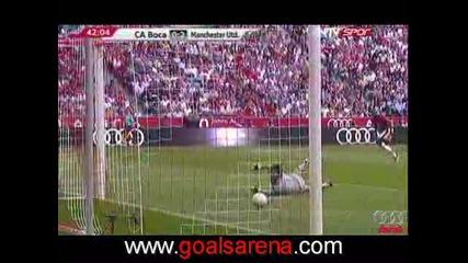 29.07 Манчестър Юнайтед - Бока Хуниорс 2:1 Антонио Валенсия гол ! Audi cup