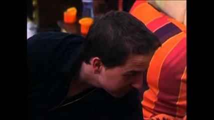 Давид не спира да досажда на Елеонора Big Brother Family 07.04.2010