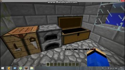 Minecraft-моята къща на Skyblock
