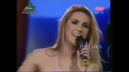 Tanja Savic i Radmila Manojlovic - Grand Duel 27.11.2009 - TV Pink