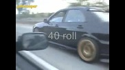 Сташна Улична Гонка - Nissan 300zx Twin Turbo vs Subaru Impreza Wrx Sti vs Toyota Supra
