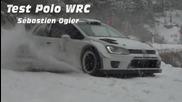 Test Polo Wrc Sebastien Ogier - Rallye Monte Carlo 2013 [hd]