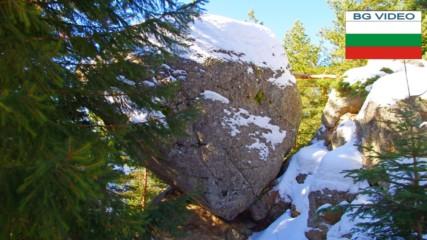 Обесения камък- скалното чудо на Рила планина