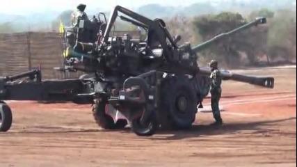 Индийската артилерия, смях