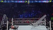 Wwe Tlc 2014 Dolph Ziggler Vs Luke Harper Ic Title Ladder Match