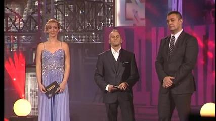 Спортист на годината 2012 - треньор № 1 Михаил Таков - награждаване