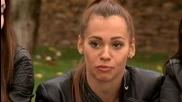 Лилия, Божидара, Гергана и Моника в къщата на съдиите - X Factor (14.10.2014)