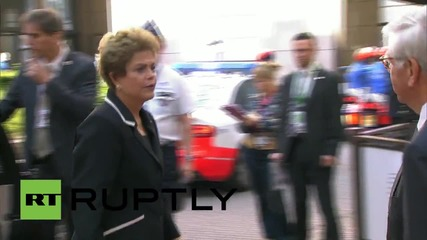 Brussels: Heads of states and governments arrive in Brussels for EU-CELAC summit