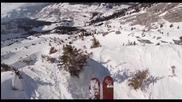 Екстремно и щуро спускане със ски