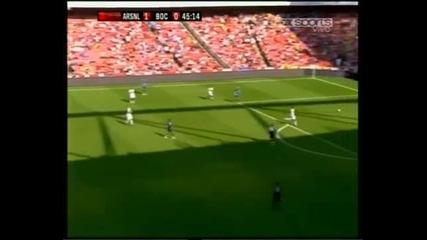 Арсенал 2-2 Бока Хуниорс (всички голове)