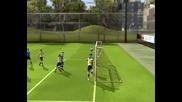 Fifa 10 гол от корнер