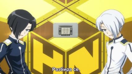 (subteam) Medaka Box Аbnormal- 03 Бг Субс