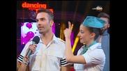 Dancing Stars - Антон и Дорина куикстеп (01.04.2014г.)