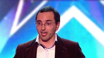 Невероятно мъж прави ехо с гласа си - Великобритания търси талант