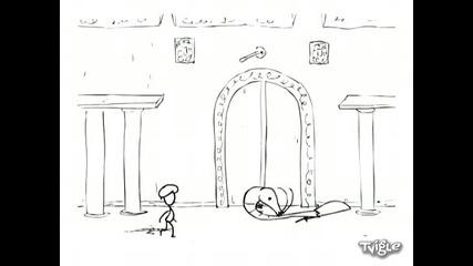 Гигантска скарида vs. Принца на Персия - много смях :d