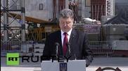 Ukraine: Poroshenko pays tribute to Chernobyl disaster victims