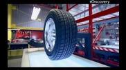 Как става това - автомобилни гуми - с Бг превод